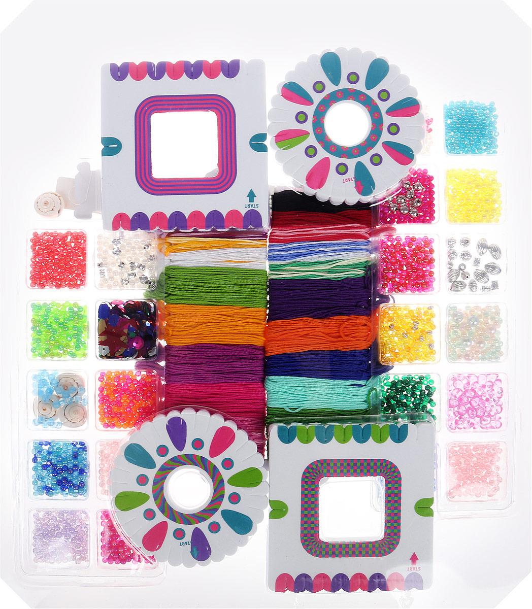 Набор для создания украшений Alex 40 браслетов-фенечек alex alex набор для творчества плетение браслетов фенечек неоновое сияние