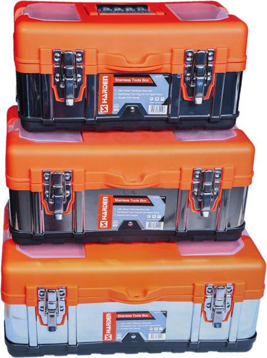 Фото - Ящик для инструментов Harden, 520228, 45 см ящик для инструментов harden 520224 36 см
