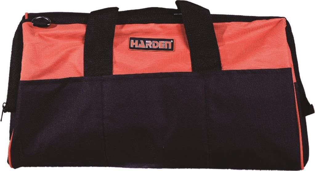 Фото - Сумка для инструментов Harden, 520505, усиленная, водонепроницаемая, 50 см ящик для инструментов harden 520224 36 см