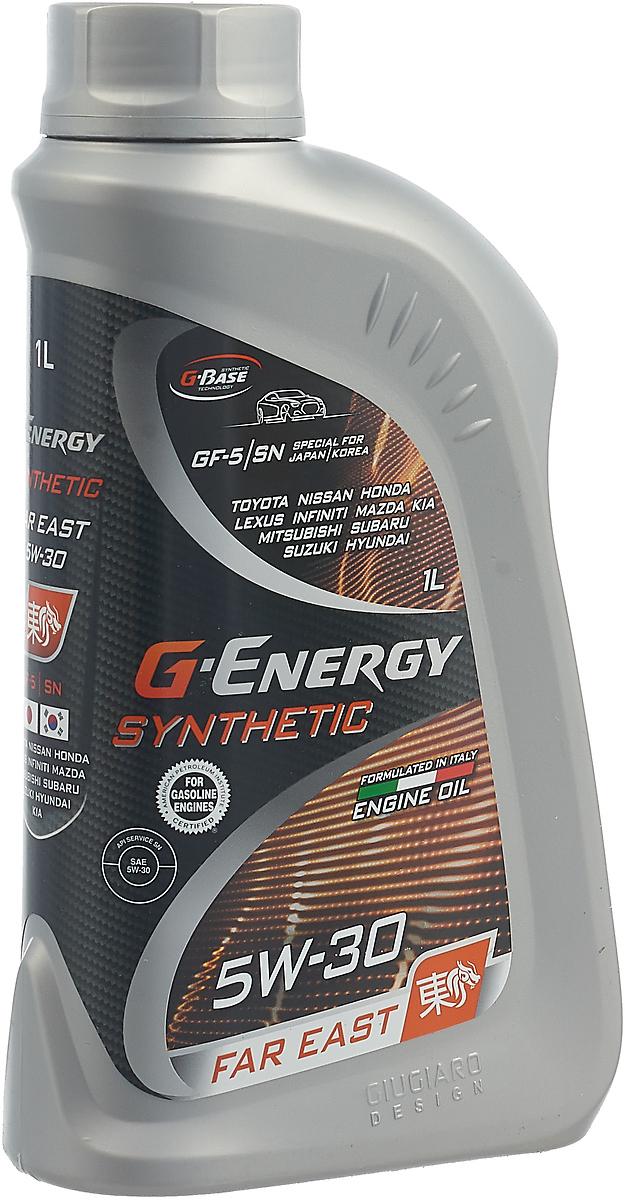 Моторное масло G-Energy Synthetic Far East, 253142414, синтетическое, 5W-30, API SN, ILSAC GF-5, 1 л