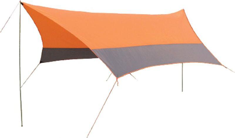 Тент Sol, цвет: оранжевый, 440 х 440 см тент от солнца для бассейна intex прямоугольный с сумкой с29030 голубой 960 х 466 см