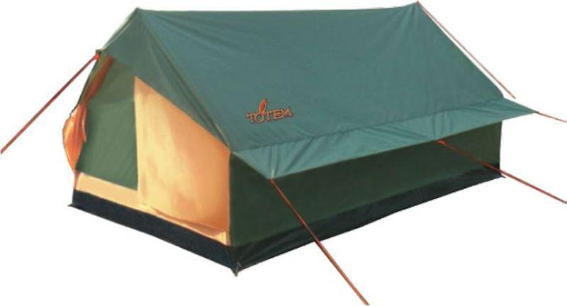 Палатка кемпинговая Тотеm Bluebird 2, цвет: зеленый. TTT-015 палатка totem tepee v2 green ttt 020