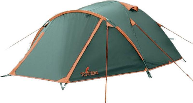 Палатка Totem Chinook (V2), цвет: зеленый. TTT-017 палатка totem tepee v2 green ttt 020
