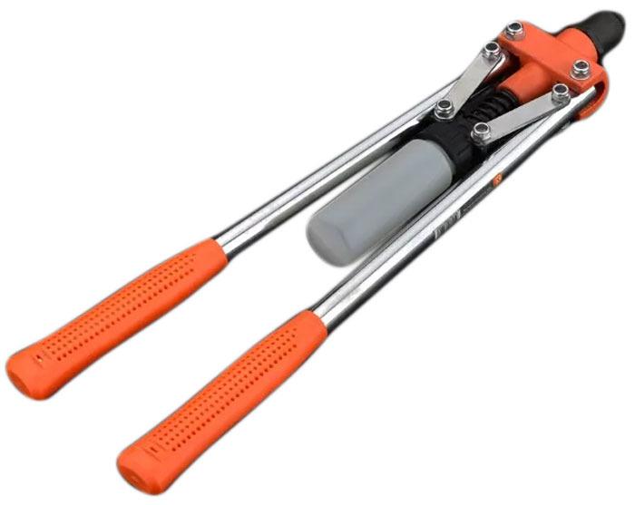 Заклепочник Harden, 610113, профессиональный, двуручный шпатель harden 620204 профессиональный усиленный 100 мм