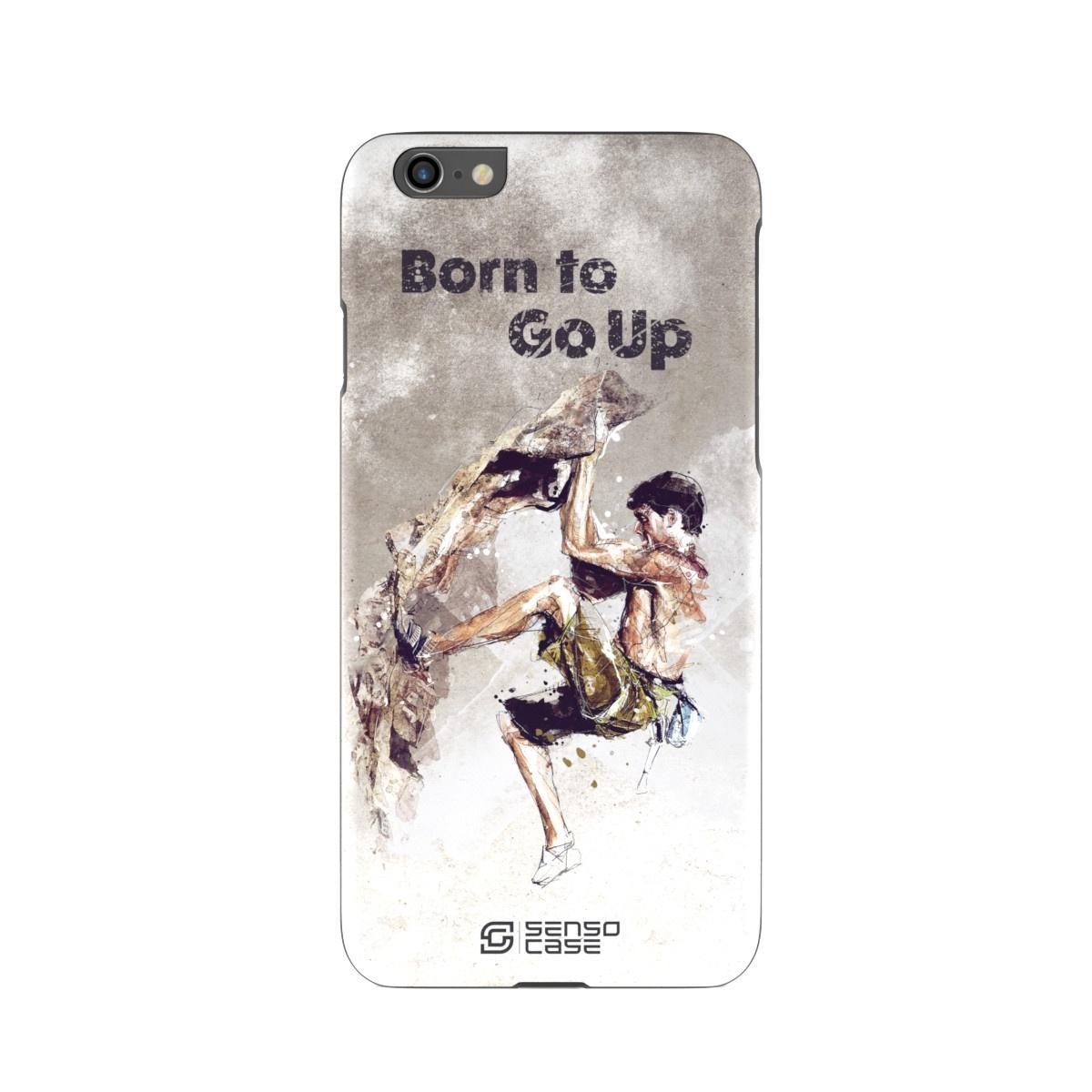 """Чехол для сотового телефона SensoCase iPhone 6/6s """"Скалолазание"""", SC-IP6-rock-climbing + защитное стекло в подарок, 100111"""