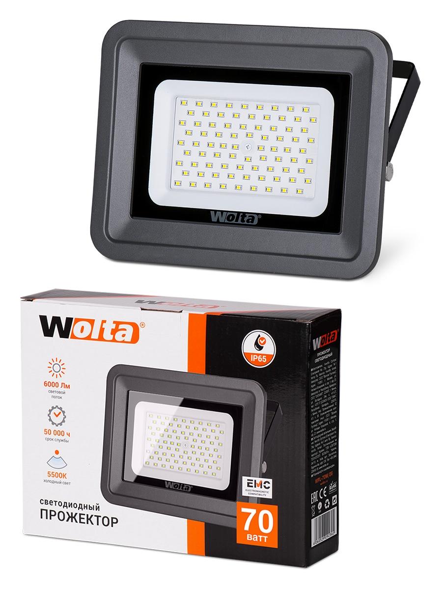 цена на Прожектор WOLTA WFL-70W/06, WFL-70W/06