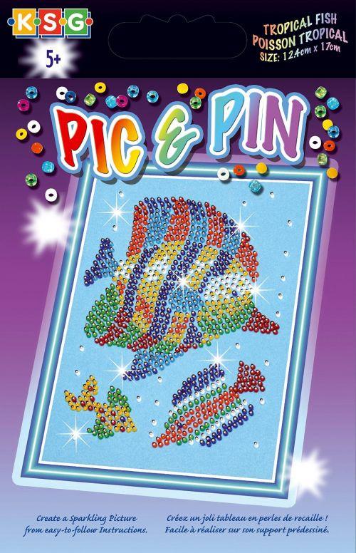Мозаика Sequin Art /KSG Рыбка 3d мозаика пингвин 140 бусинок 150104 3