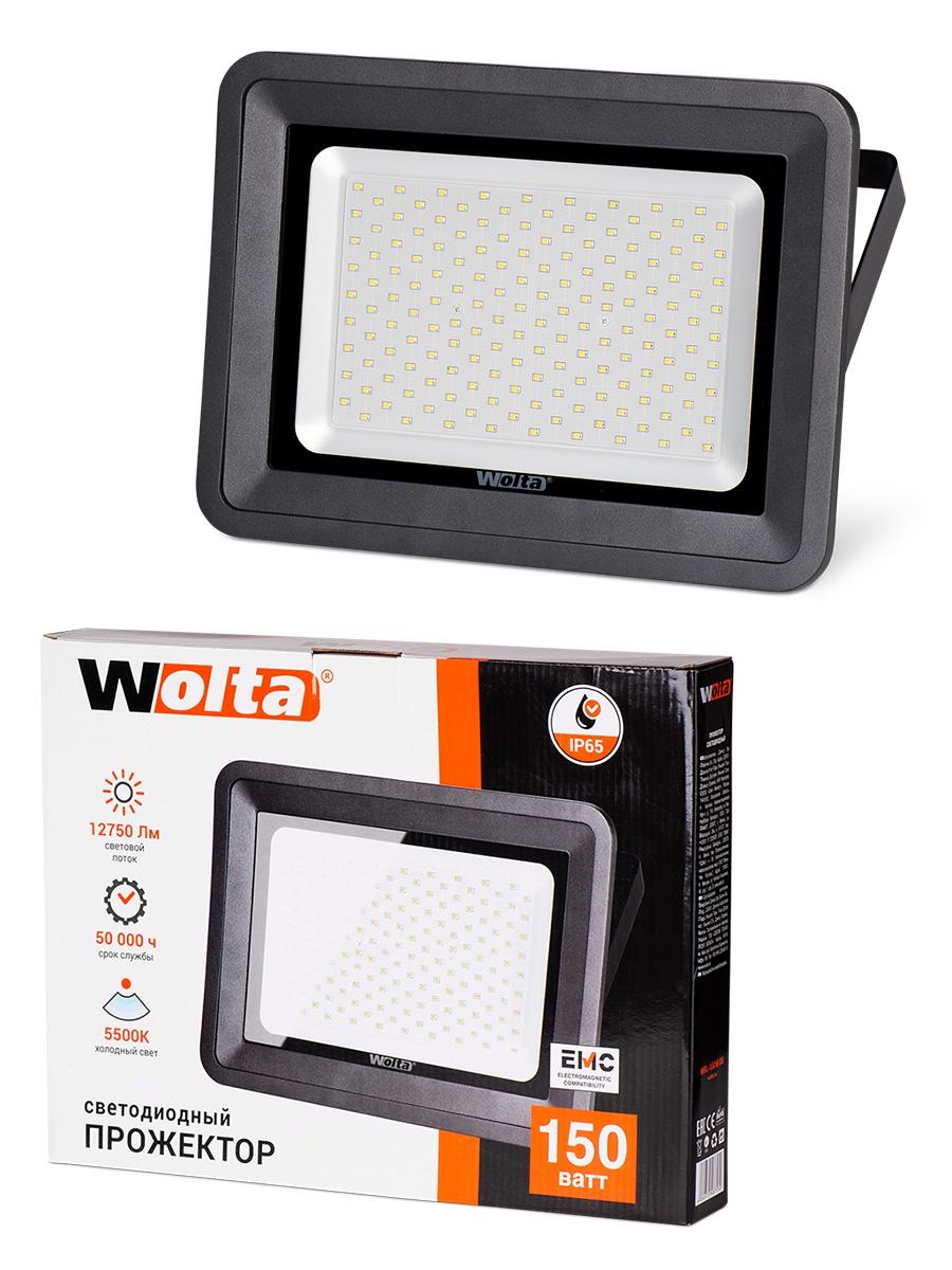 Прожектор WOLTA WFL-150W/06, WFL-150W/06 прожектор wolta wfl 20w 06 20w 180v 5500к smd ip65 grey