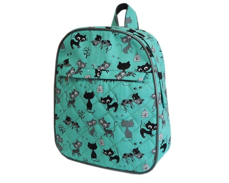 Рюкзак Tltriumph Детский, РД-04, РД-04 котята на голубом, бирюзовый рюкзак рыболовный aquatic рд 02