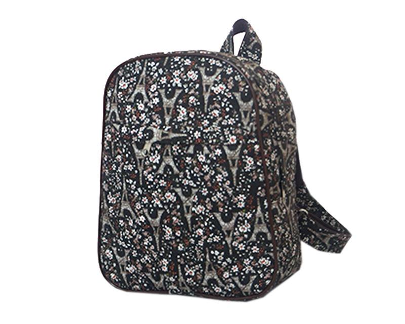 Рюкзак Tltriumph Детский, РД-04, РД-04 париж и цветы, черный рюкзак рыболовный aquatic рд 02