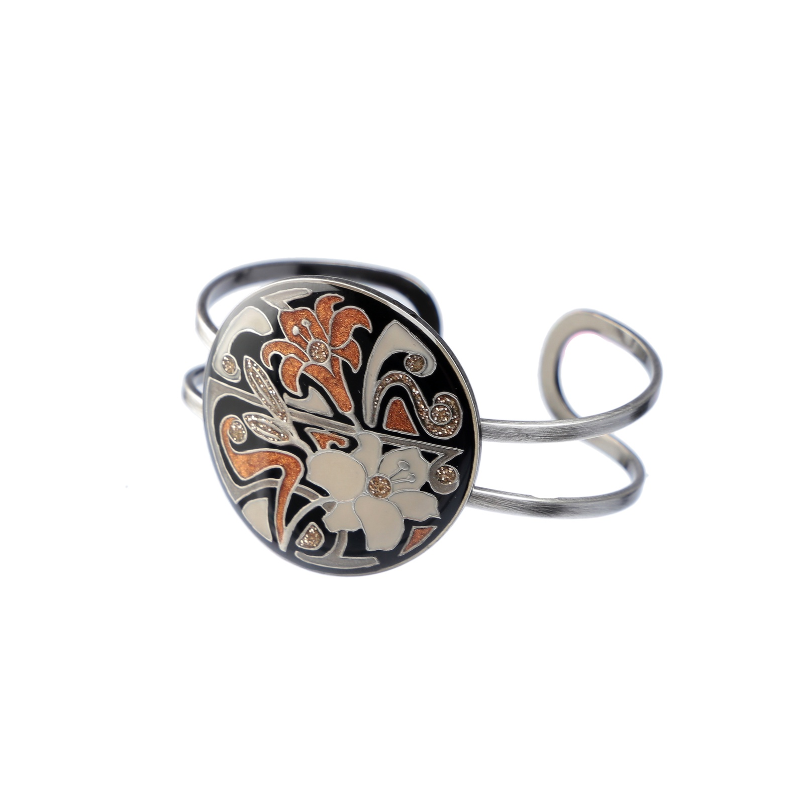 Браслет бижутерный Clara Bijoux браслеты с серебром и эмалью