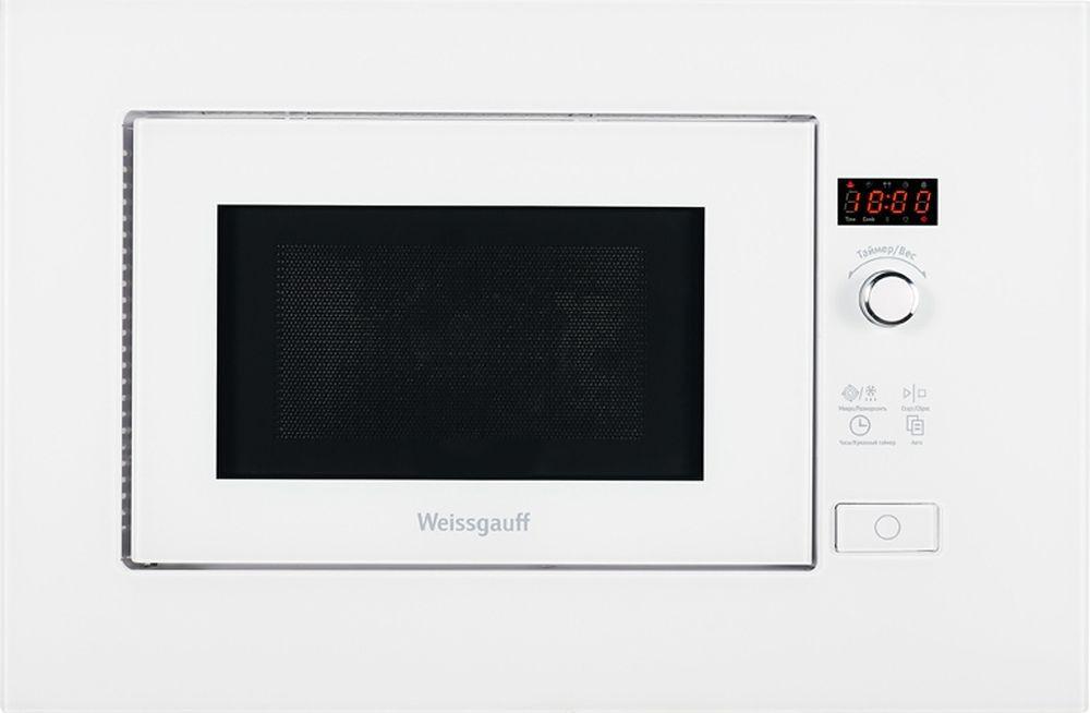 Встраиваемая микроволновая печь Weissgauff HMT 202, белый