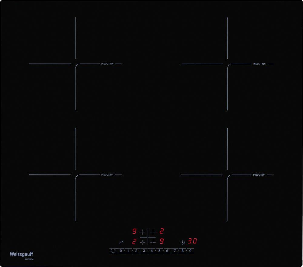 Варочная панель Weissgauff HI 640 BS, 410079, черный