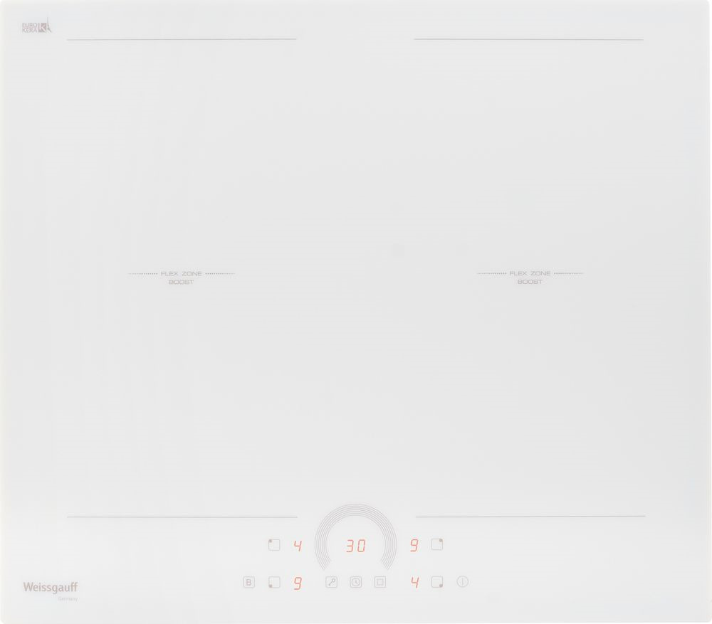 Варочная панель Weissgauff HI 642 WFZ, 418945, белый