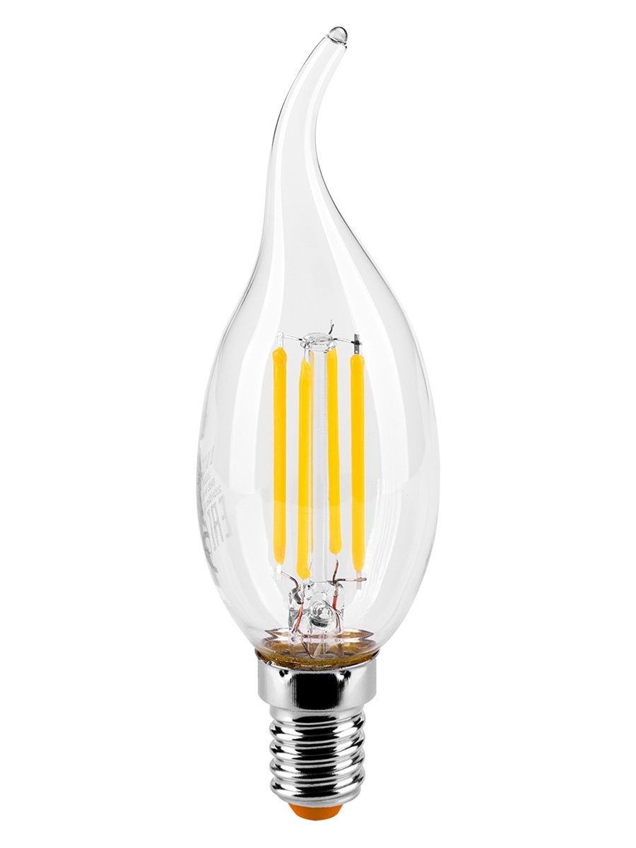 купить Лампочка Wolta 25YCDFT7E14, 7W, E14, Теплый, Теплый свет 7 Вт, Светодиодная по цене 170 рублей