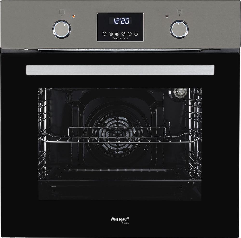 Духовой шкаф Weissgauff EOA 29 PDX, 359709, черный, серебристый weissgauff eom 28 pdx