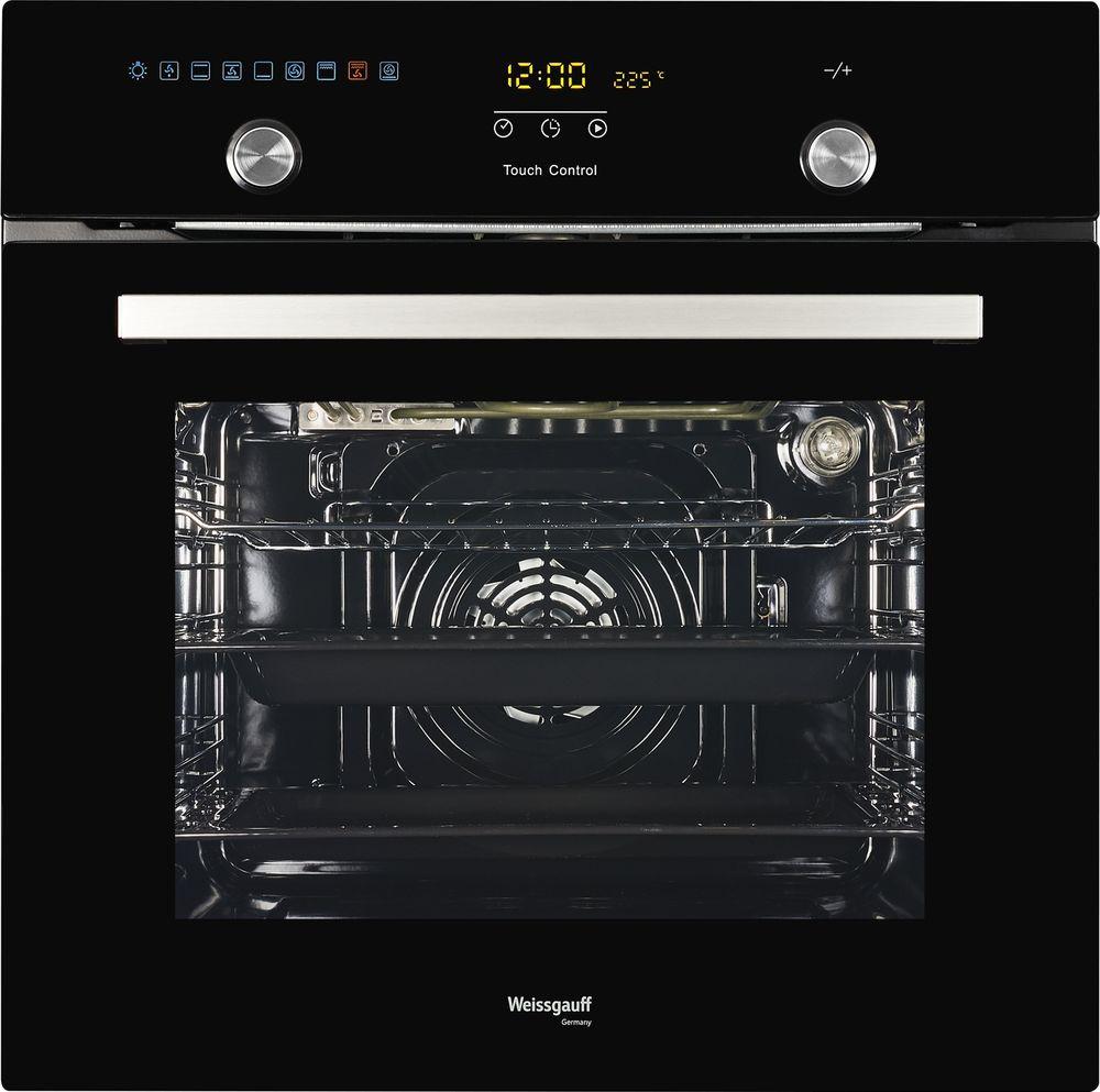 Духовой шкаф Weissgauff EOA 691 PDB, 410674, черный цена и фото