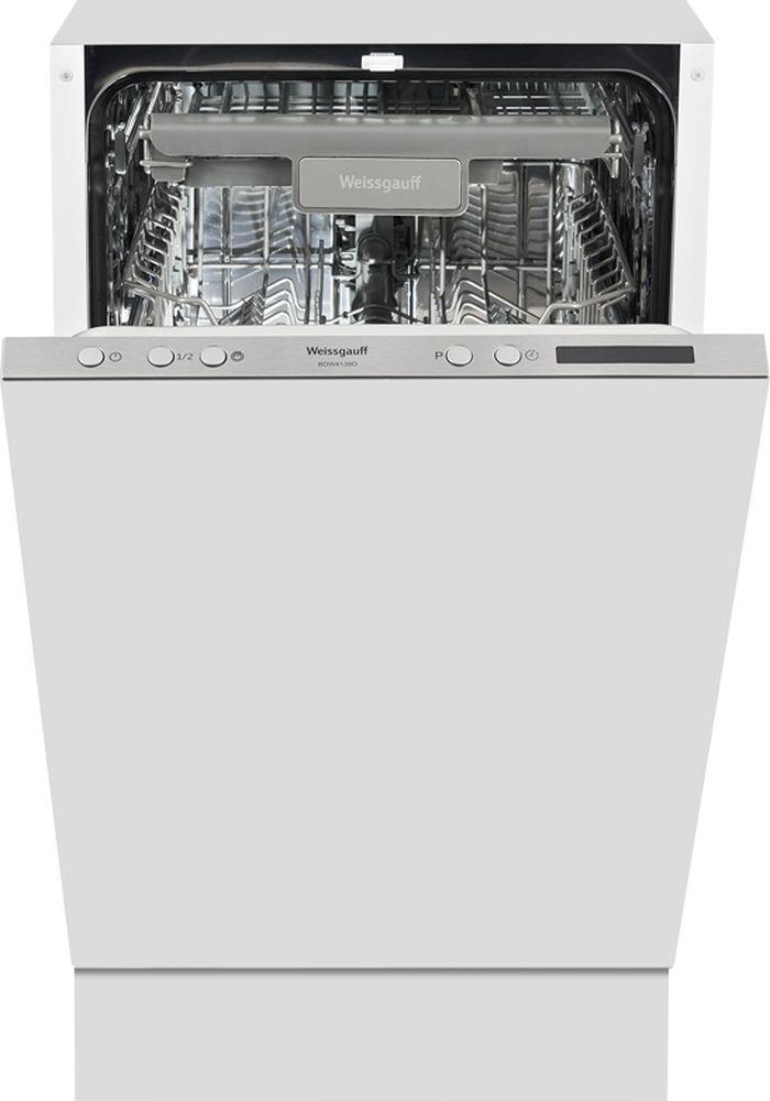 Посудомоечная машина Weissgauff BDW 4138 D, 316686, белый цена и фото