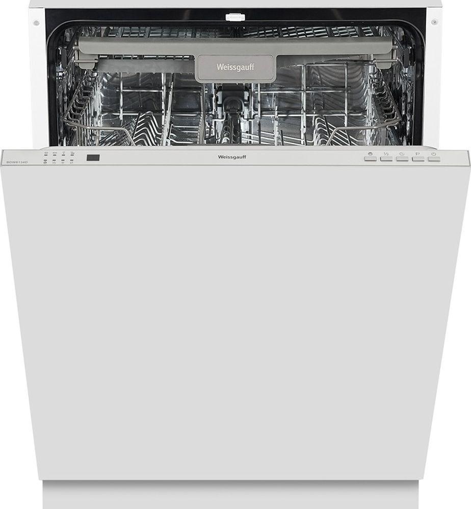 Посудомоечная машина Weissgauff BDW 6134 D, 316685, белый цена и фото