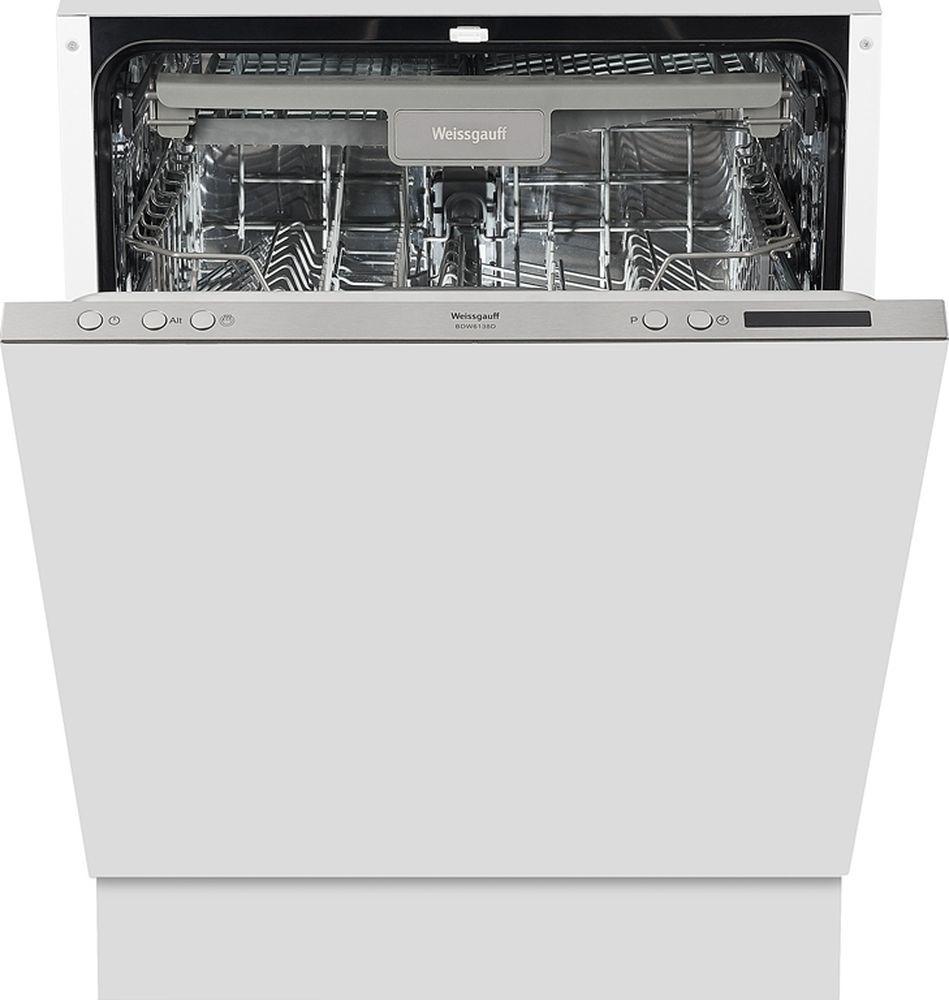 Посудомоечная машина Weissgauff BDW 6138 D, 316687, белый цена и фото
