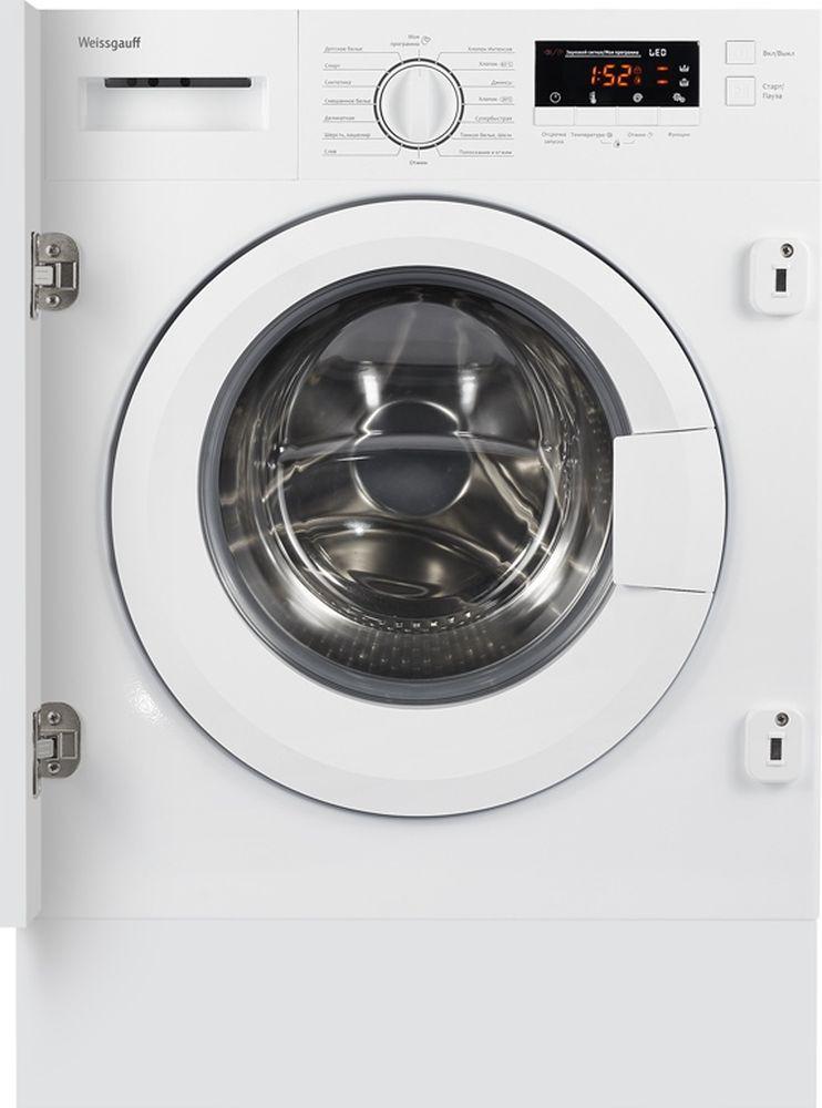 Стиральная машина Weissgauff WMI 6148 D, 404317, белый