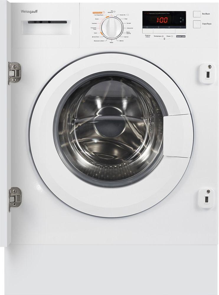 Стиральная машина Weissgauff WMDI 6148 D, 404317, белый