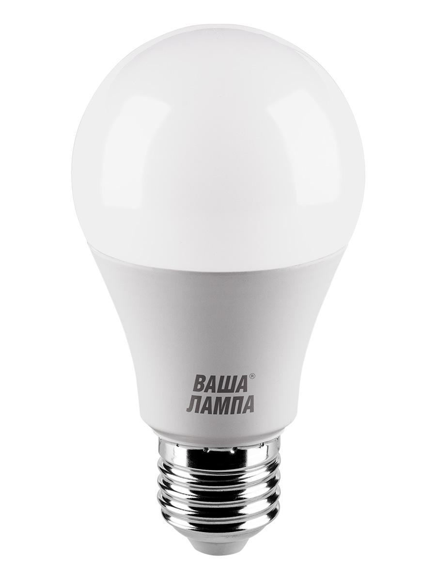 Лампочка ВАША ЛАМПА 25S60BL9E27-P, 9W, E27, Теплый