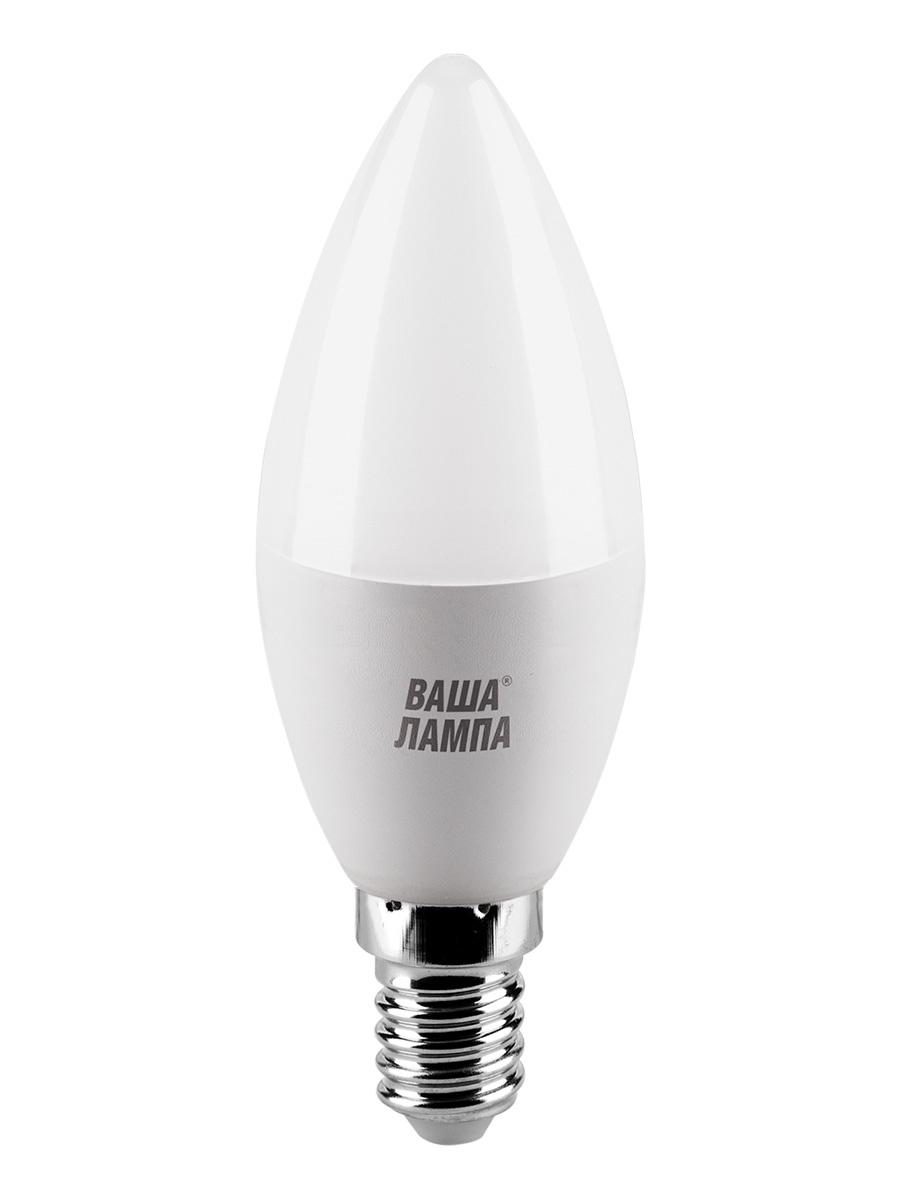 все цены на Лампочка ВАША ЛАМПА 25YC10E14-P, 10W, E14, Теплый, Теплый свет 10 Вт, Светодиодная онлайн
