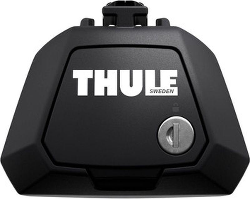 Опоры для багажника Thule Evo, с замками, для автомобилей с рейлингами, 710400, черный, нагрузка 100 кг игровые наборы playskool игровой набор звездные войны с фигуркой эвока