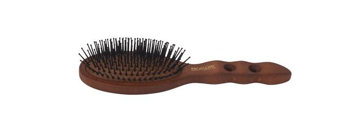 Щетка для волос DEWAL с нейлоновым штифтом, овальная недорого