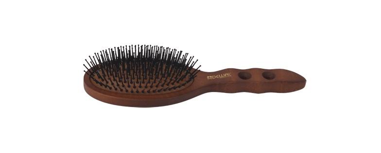 Щетка для волос DEWAL с нейлоновым штифтом,овальная недорого