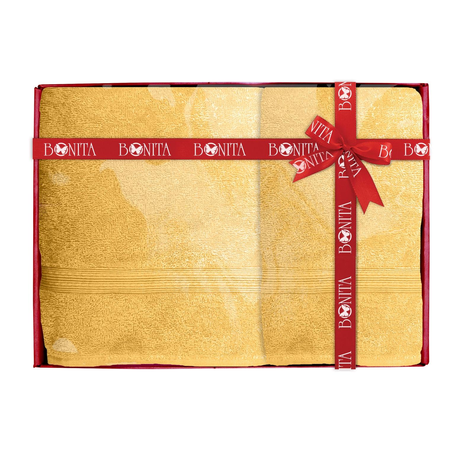 Набор банных полотенец Bonita Классик, 21010118683, оранжевый цена и фото