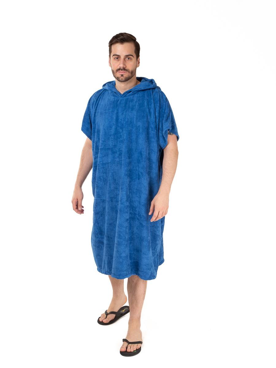 Полотенце с капюшоном Sunpa 5Vallarta, SP18-5Vallarta_NEW, темно-синий платье oodji ultra цвет темно синий темно зеленый 11910073m 26346 7969f размер 36 170 42 170