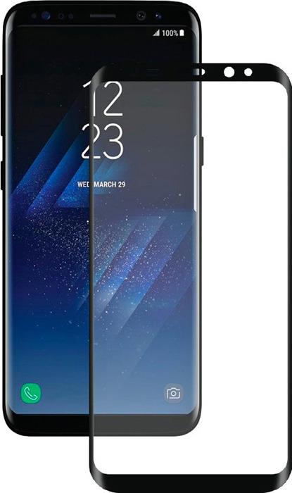 Защитное стекло Deppa для Samsung Galaxy S8 SM-G950, 62349, черный цена и фото