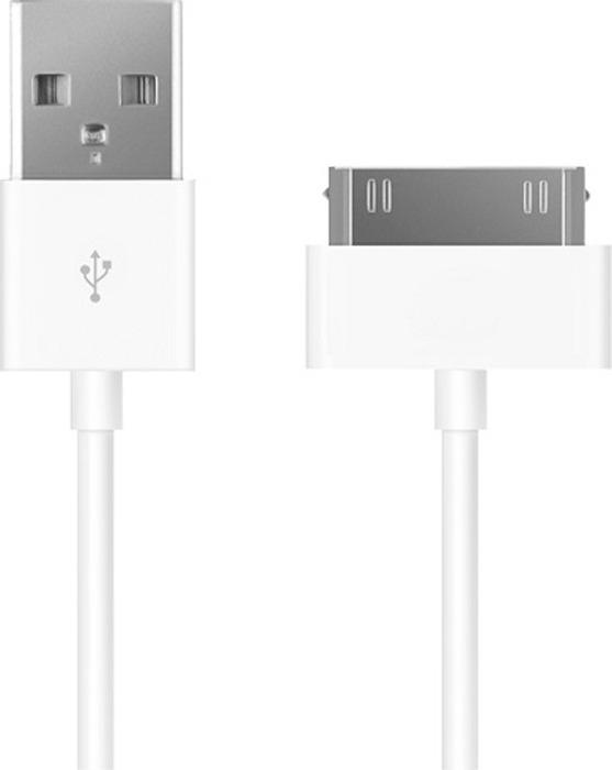 Кабель Prime Line Apple 30-pin - USB 1,2 м, 7200, белый