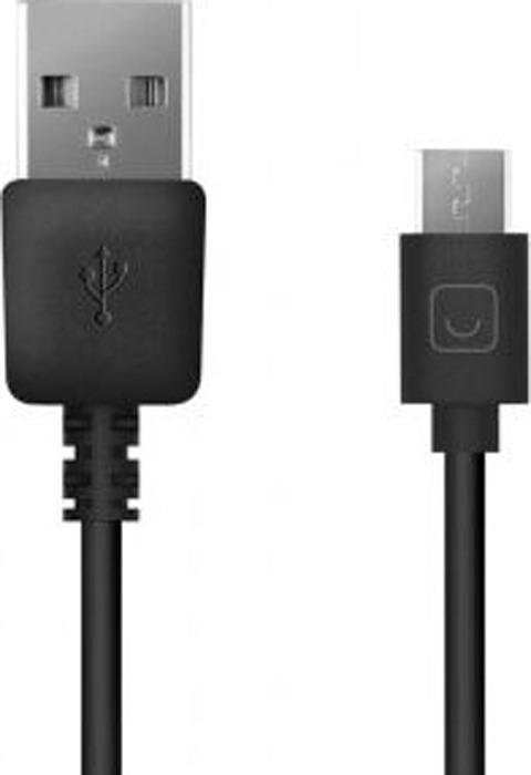 Кабель Prime Line Micro USB - USB 2 м, 7208, черный сетевое зарядное устройство prime line 1a с кабелем micro usb черный
