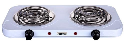Настольная плита PROMO PR-EC2262 белая, 2 конф., 00-00001209 Promo