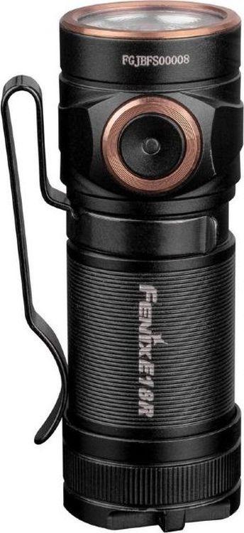 Ручной фонарь Fenix E18R Cree XP-L HI, R51634, черный фонарь fenix ld15r cree xp g3