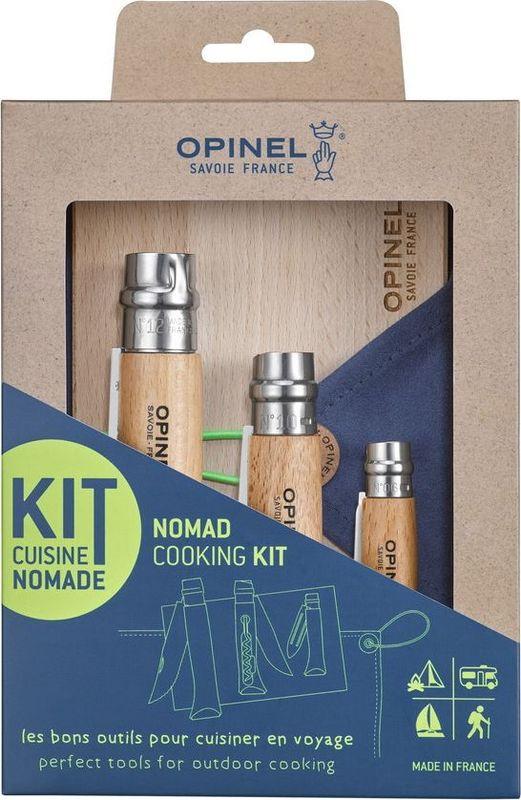Набор ножей Opinel Outdoor, R50362, 3 шт набор кухонных ножей 3 шт 7941 clasica серия clasica