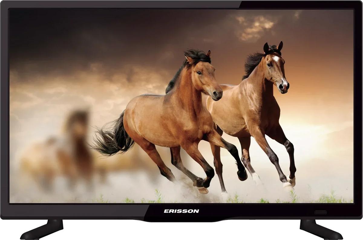 Телевизор Erisson 20, черный телевизор жк erisson 32lea17t2s 32сереб