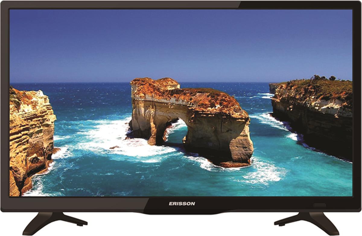 Телевизор Erisson 24HLE20T2 24, черный телевизор жк erisson 32lea17t2s 32сереб