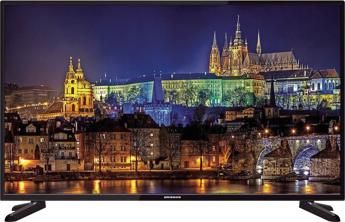 Фото - Телевизор Erisson 40FLE17T2 40, черный телевизор 50 erisson 50flea18t2sm full hd 1920x1080 smart tv черный