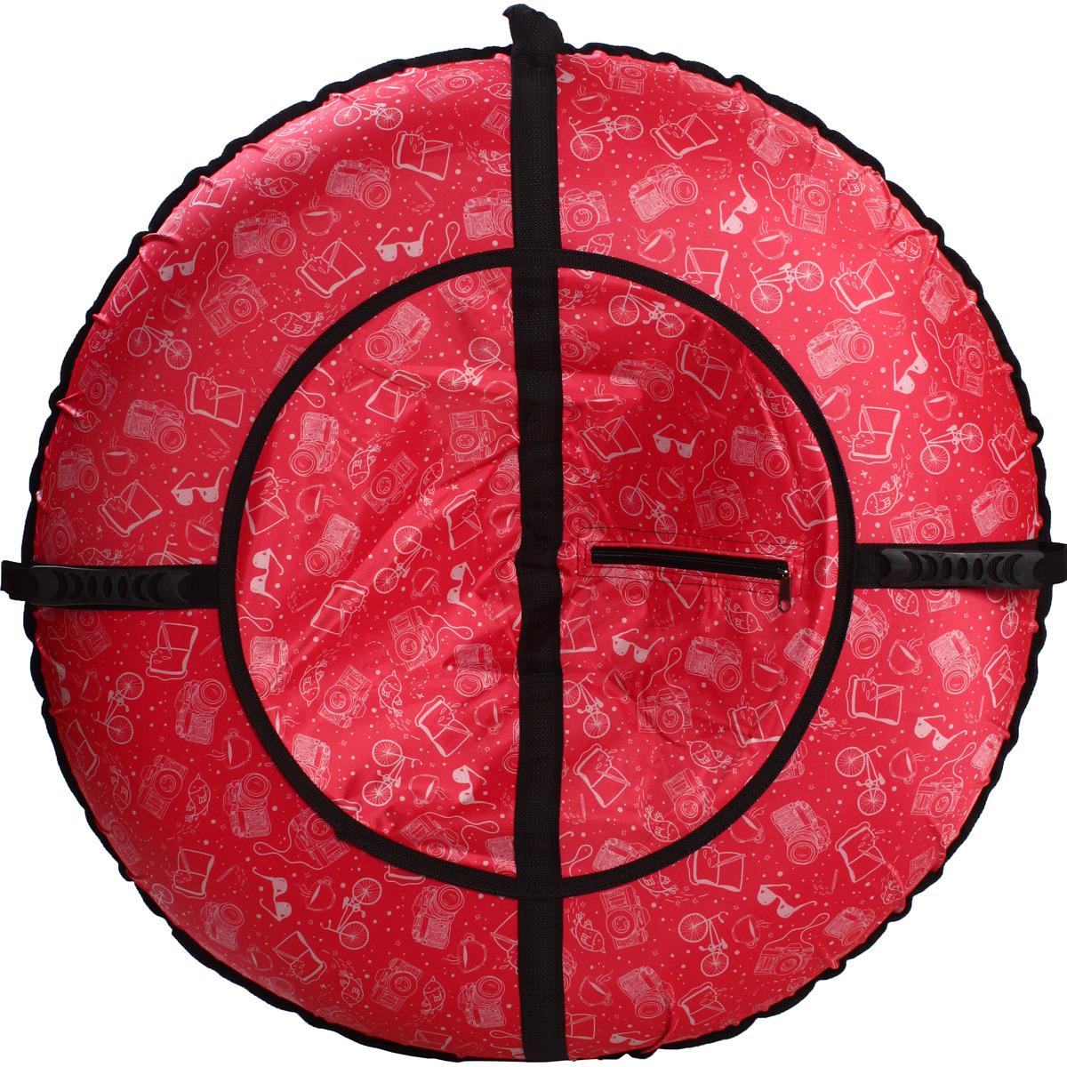 Ватрушка 80см Техника на розовом Ibag