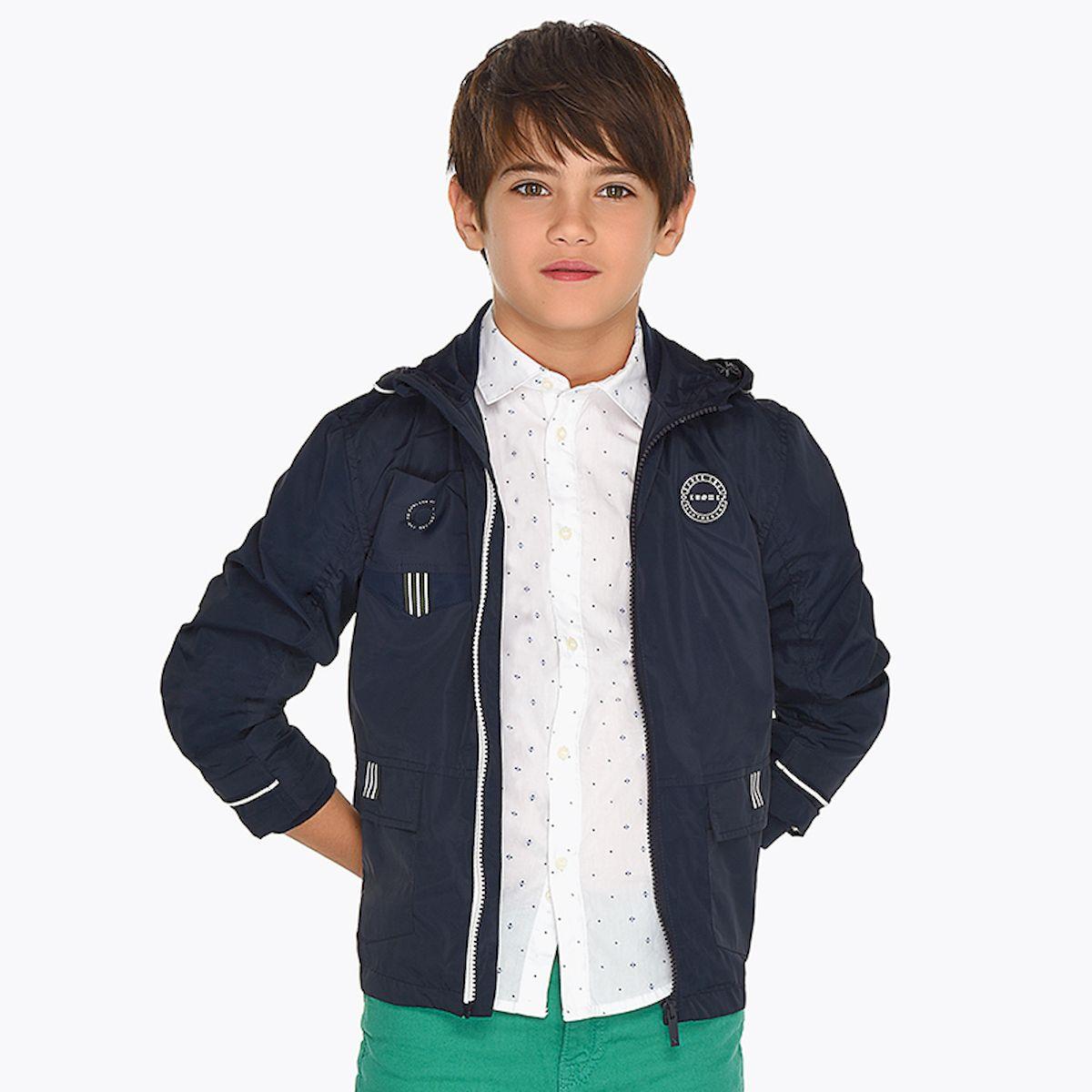 Куртка Mayoral, Nukutavake by Mayoral свитер для мальчика nukutavake by mayoral цвет темно синий 6305 77 7b размер 140 10 лет