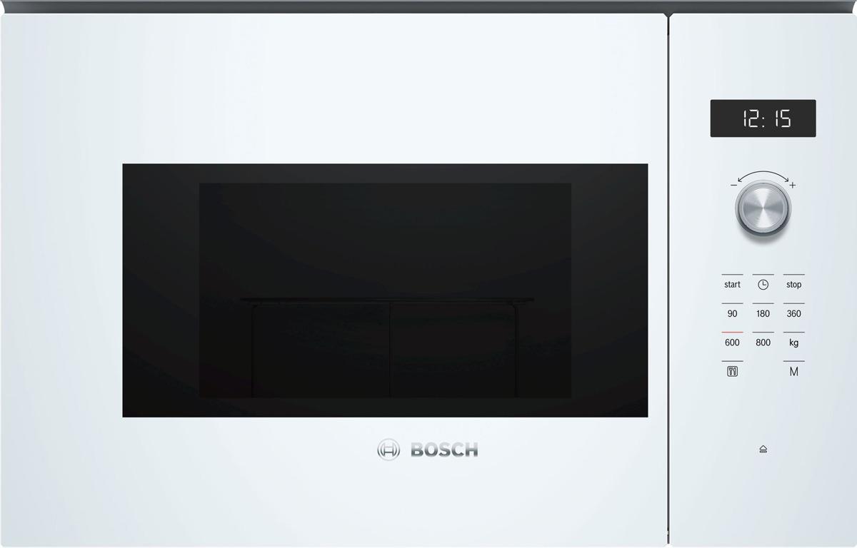 лучшая цена Встраиваемая микроволновая печь Bosch BFL524MW0, белый