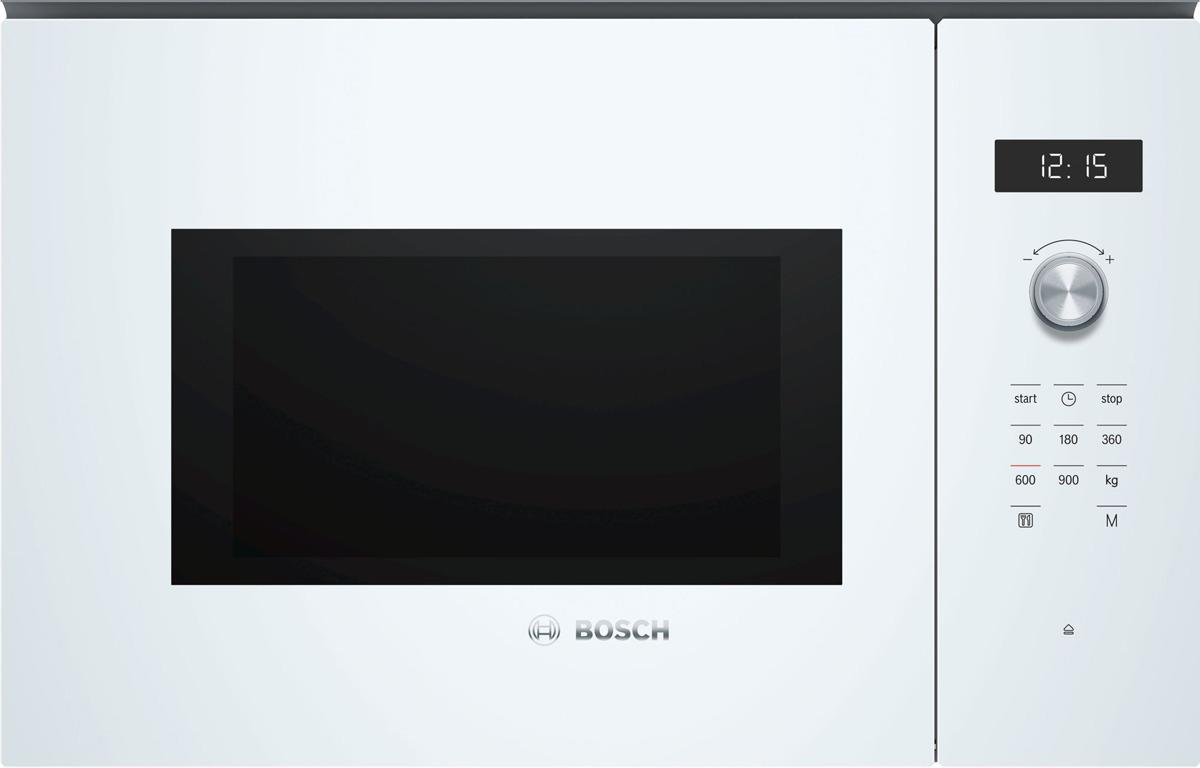 лучшая цена Встраиваемая микроволновая печь Bosch BFL554MW0, белый