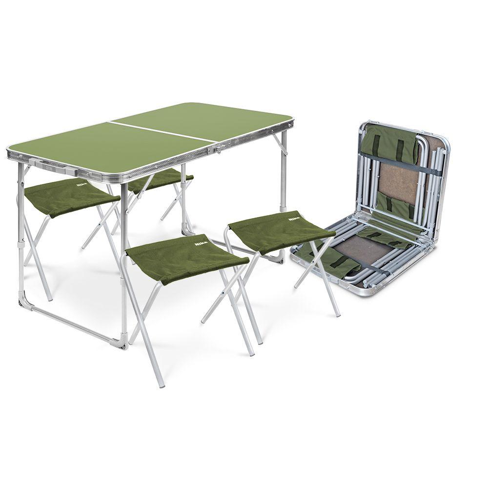 Набор складной мебели Ника ССТ-К2, ССТ-К2 хаки, темно-зеленый