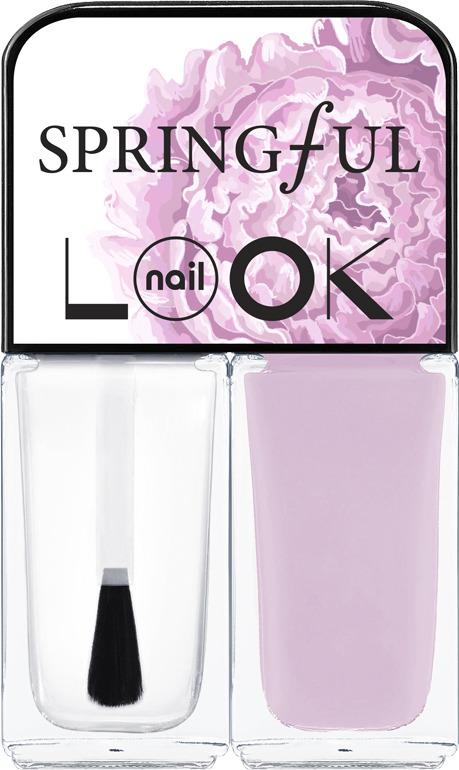 Лак для ногтей NailLOOK Trends Springful Pressed Rose, 3 мл, 2 шт лак для ногтей naillook trends donut bar banana iced sprinkles 2 х 3 мл