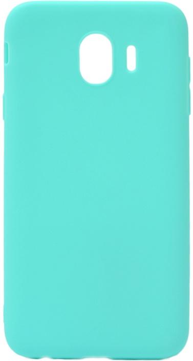 Чехол для сотового телефона GOSSO CASES для Samsung Galaxy J4 (2018) Soft Touch, 186946, голубой