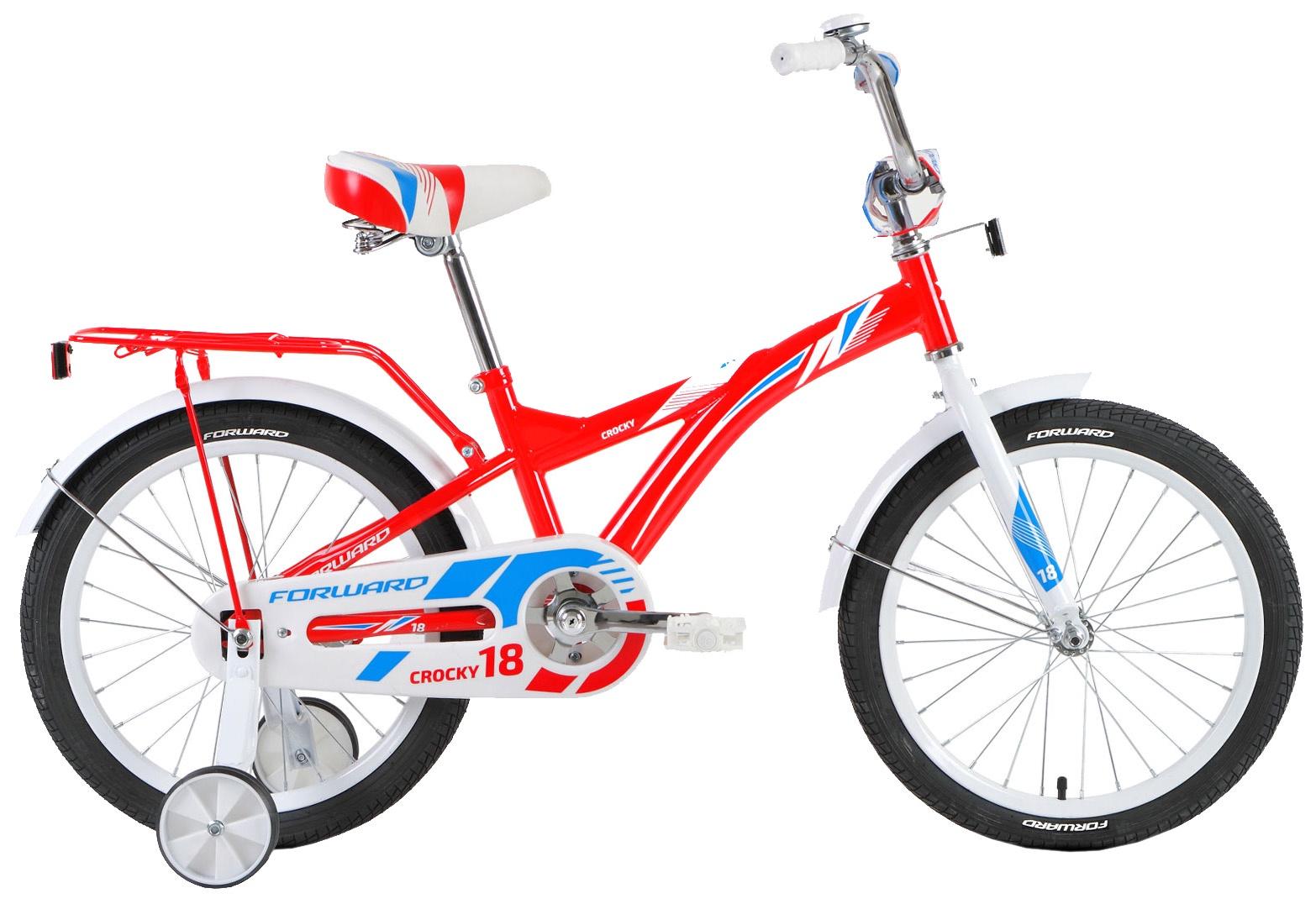 Велосипед Forward CROCKY 18 2018, RBKW8LNH1016, красный